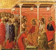 Christ Crowned with Thorns Duccio