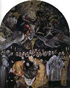 Burial of the Cout of Orgaz El Greco
