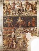 Allegory of the Month of April Francesco del Cossa