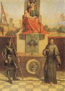 Virgin and CHild with SS Francis and Liberalis Giorgione