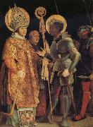 The Meeting of St Erasmus and St Maurice Grunewald, Matthias