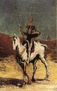 Don Quixote Honore Daumier