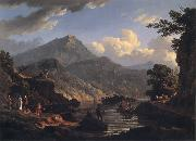 Landscape with Tourists at Loch Katrine John Knox