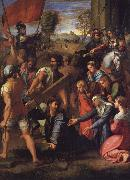 Christ on the Road to Calvary Raphael