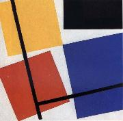 Simultaneous Counter Composition Theo van Doesburg