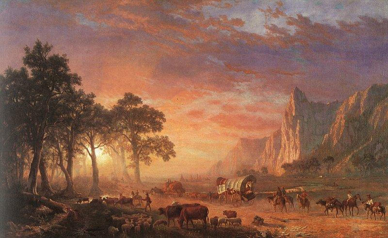 Albert Bierstadt The Oregon Trail