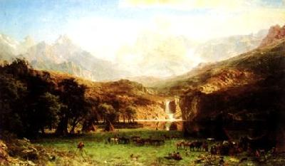 Albert Bierstadt The Rocky Mountains