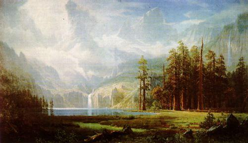 Albert Bierstadt Grandeur of the Rockies
