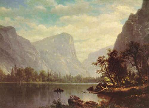 Albert Bierstadt Mirror Lake, Yosemite Valley