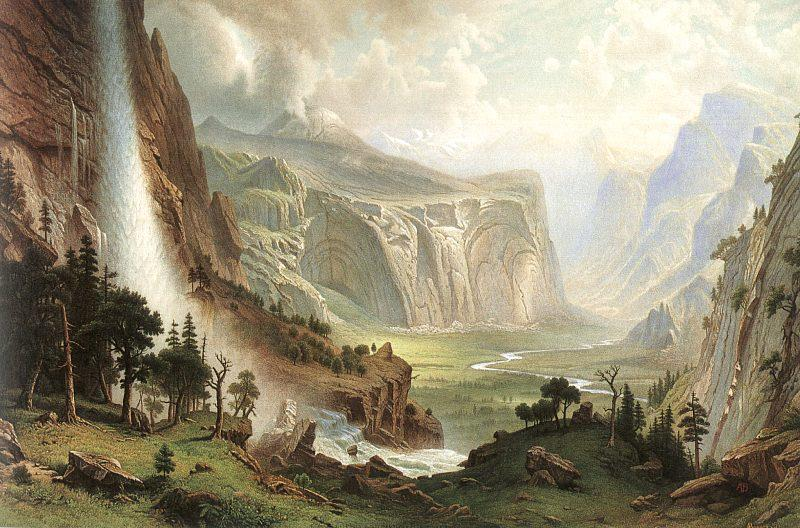 Albert Bierstadt The Domes of the Yosemites