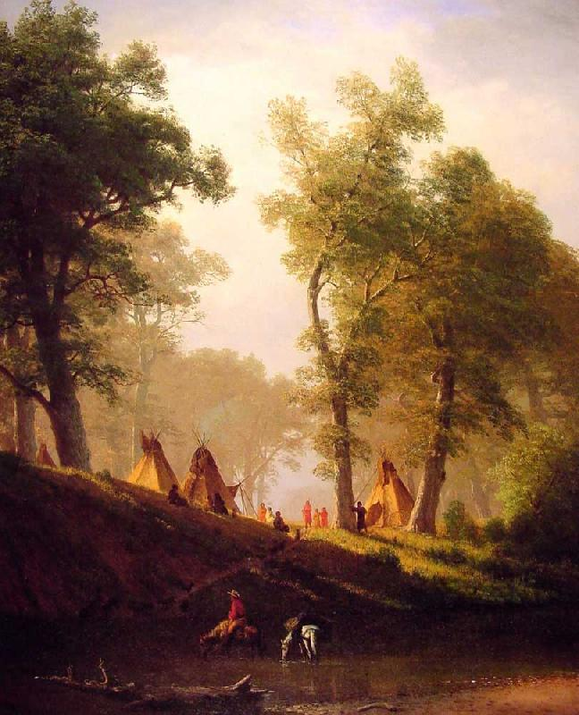 Albert Bierstadt The Wolf River