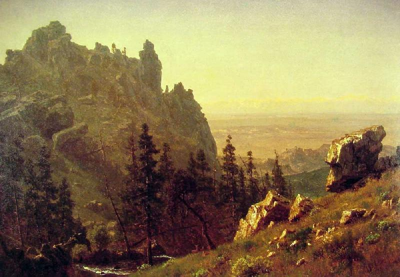 Albert Bierstadt  Wind River Country