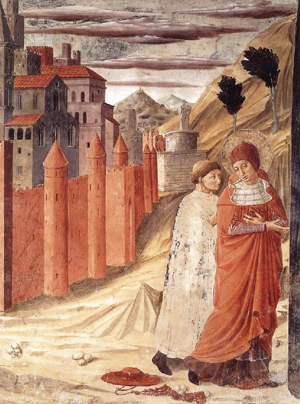 GOZZOLI, Benozzo The Departure of St Jerome from Antioch dg