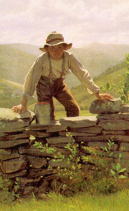 John George Brown The Berry Boy