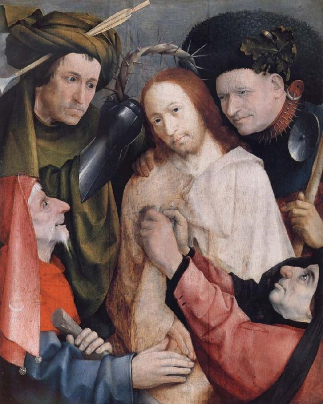 Heronymus Bosch Christ Mocked and Crowned with Thorns