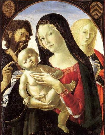 Neroccio Madonna and Child with St John the Baptist and St Mary Magdalene