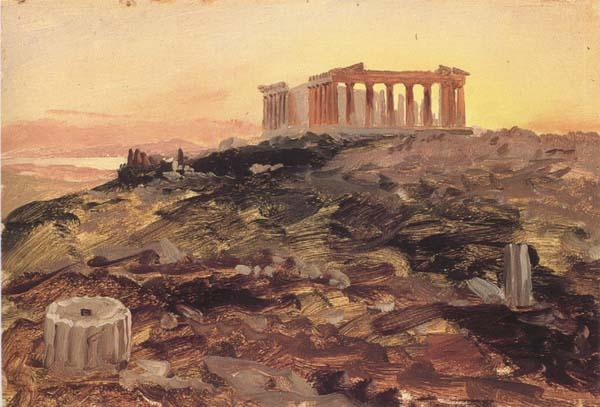 Frederic E.Church The Parthenon from the Southeast