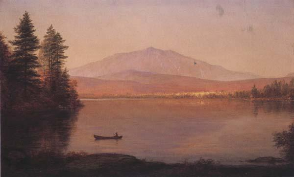 Frederic E.Church Mount Katahdin from Millinocket Camp