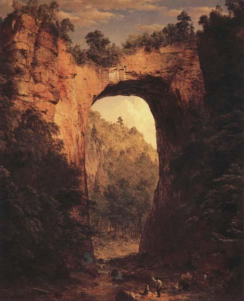 Frederic E.Church The Natural Bridge,Virginia