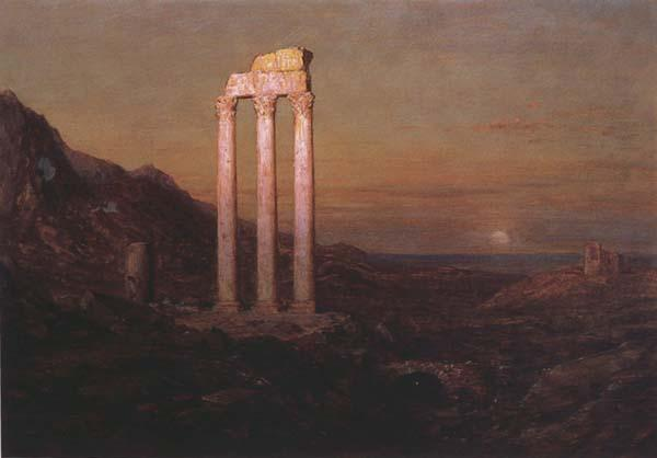 Frederic E.Church Moonrise over Greece