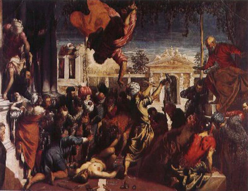 Tintoretto Slave miracle