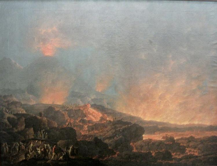 Carlo Bonavia Eruption of the Vesuvius