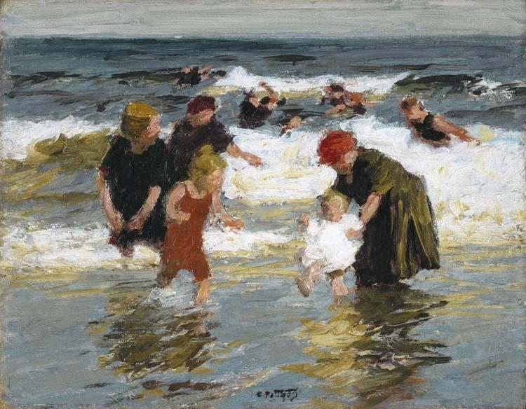 Edward Henry Potthast Prints Bathers