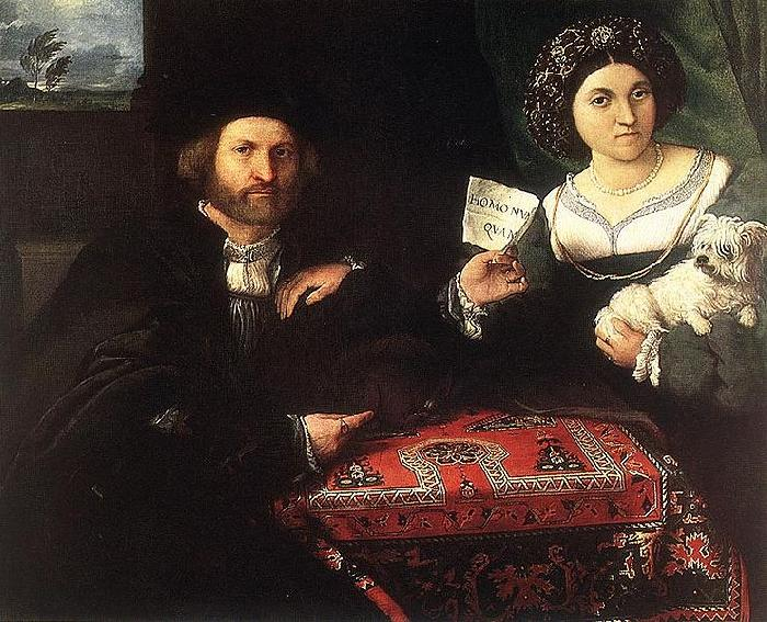 Lorenzo Lotto Husband and Wife
