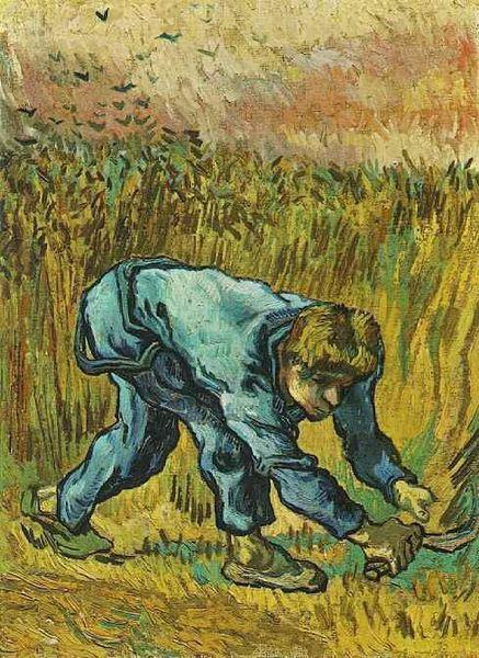Vincent Van Gogh Reaper with Sickle