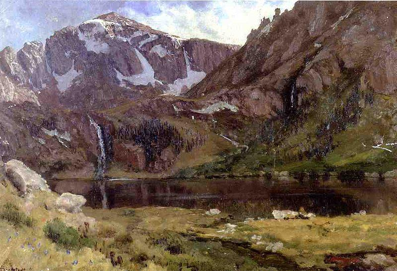 Albert Bierstadt Mountain Lake