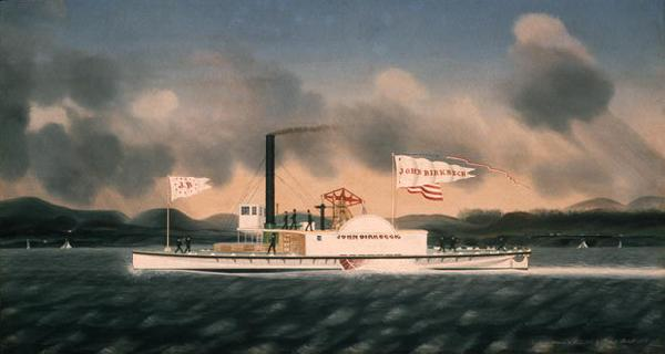 James Bard John Birkbeck, steam towboat