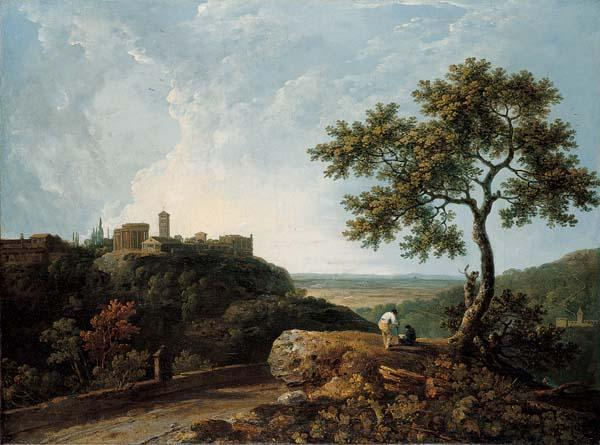 Richard Wilson The Temple of the Sybil and the Campagna,