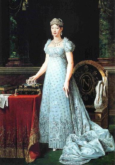 Robert Lefevre Portrait of Marie-Louise of Austria, wife of Napoleon and empress of France