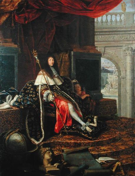 Testelin,Henri Portrait of Louis XIV of France