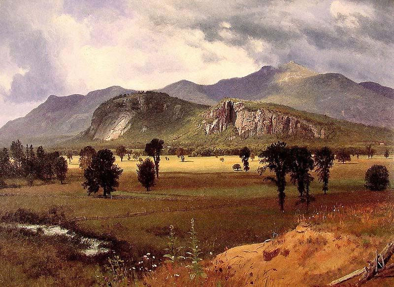 Albert Bierstadt Moat Mountain, Intervale, New Hampshire