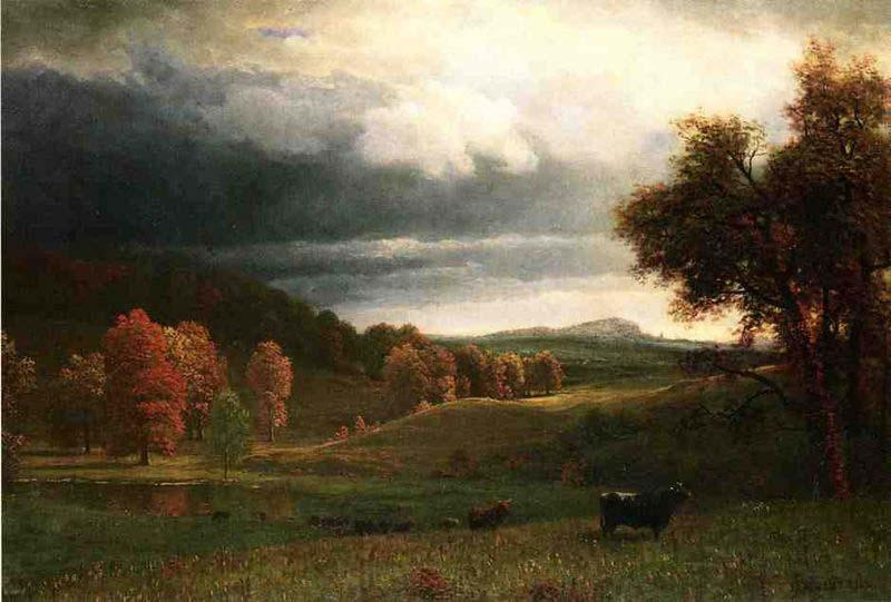 Albert Bierstadt The Catskills