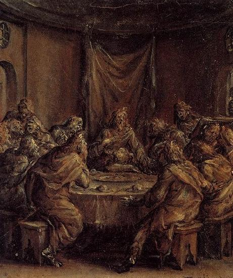 Dirck Barendsz The Last Supper
