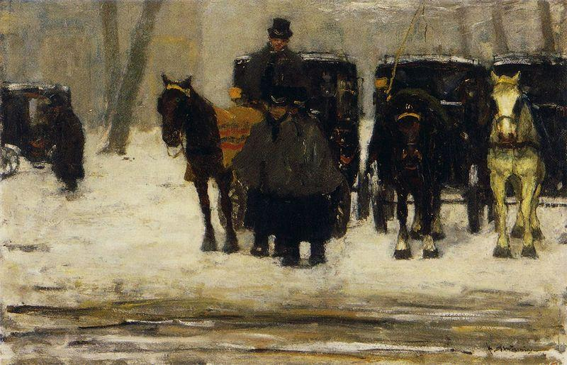 Floris Arntzenius Rental coaches in the snow