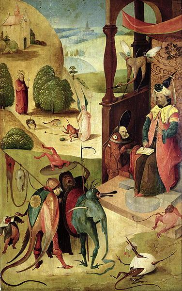 Heronymus Bosch Saint James and the magician Hermogenes