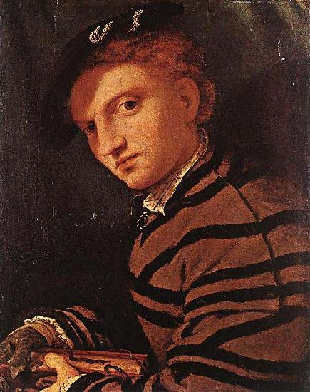 Lorenzo Lotto Young Man with Book