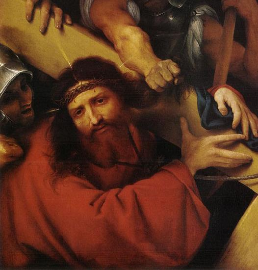 Lorenzo Lotto Christ Carrying the Cross