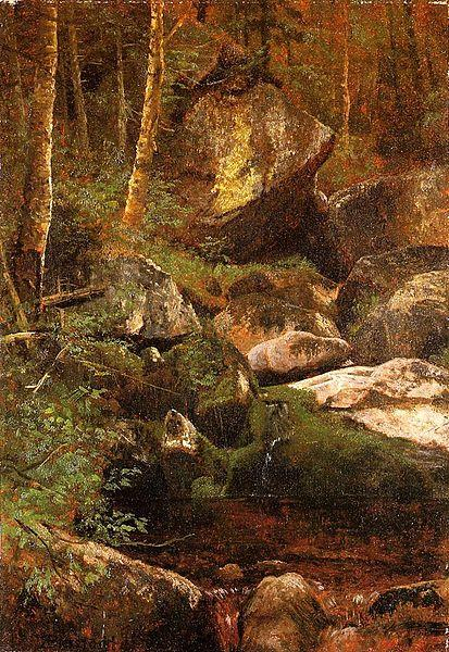 Albert Bierstadt Forest_Stream