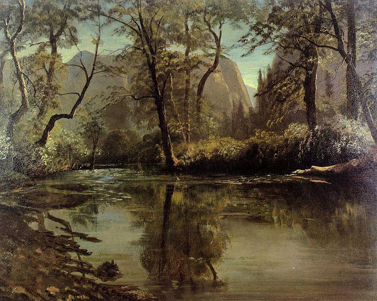 Albert Bierstadt Yosemite Valley, California