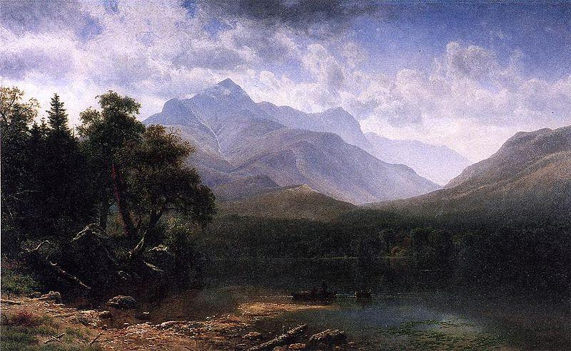 Albert Bierstadt Mount Washington