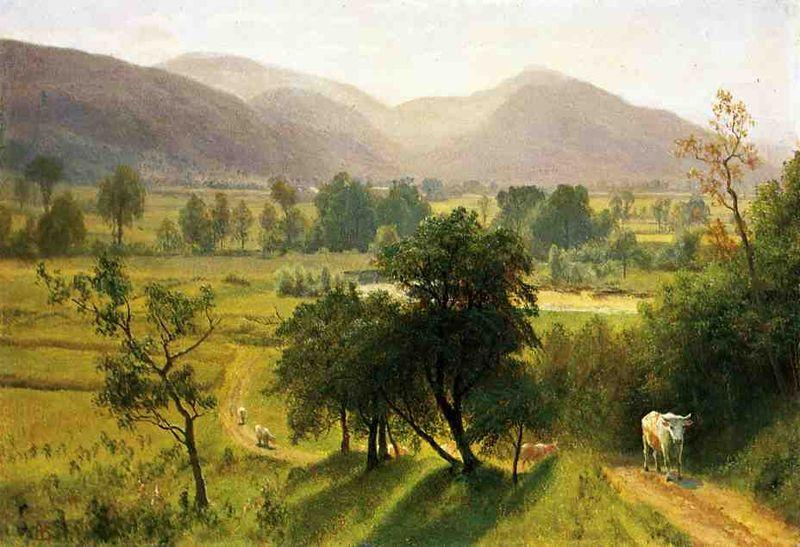 Albert Bierstadt Conway Valley New Hampshire