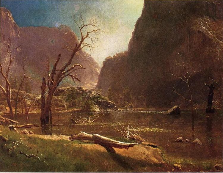 Albert Bierstadt Hetch Hetchy Valley