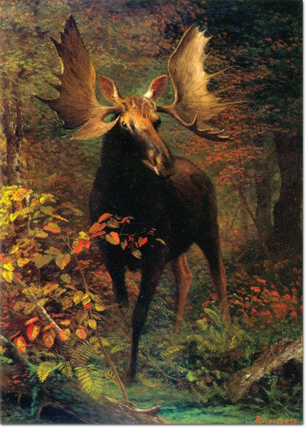 Albert Bierstadt In the Forest