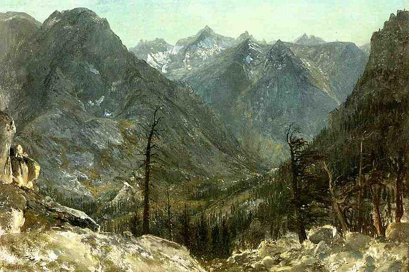 Albert Bierstadt The_Sierra_Nevadas