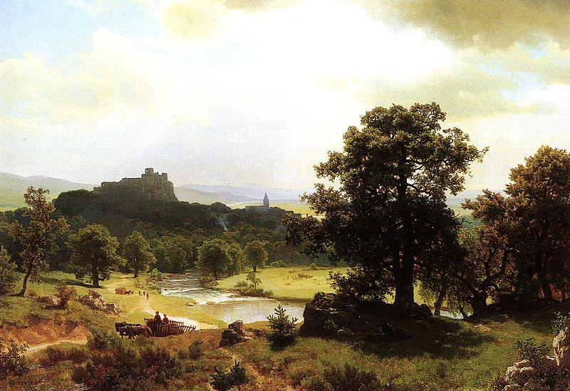 Albert Bierstadt Day-s_Beginning
