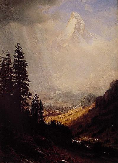 Albert Bierstadt The_Matterhorn
